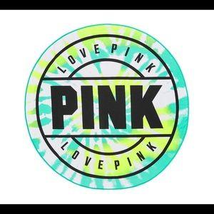 Vs pink towel